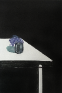 Ramito de Violeta Monotipìa 38x24i 70x50p