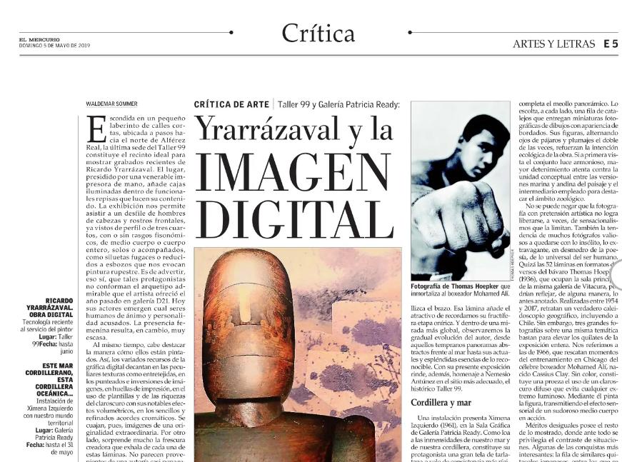 Yrarrázaval y la imagen digital
