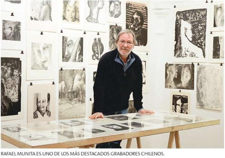 Rafael Munita recorre sus 40 años de grabado